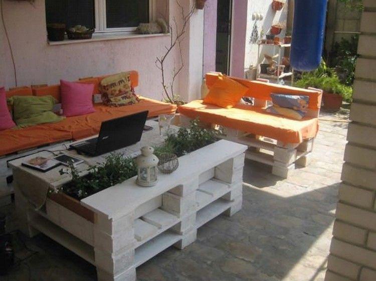 11 Amazing Recycled Palettentische mit Pflanzgefäßen | DIY-Paletten ...