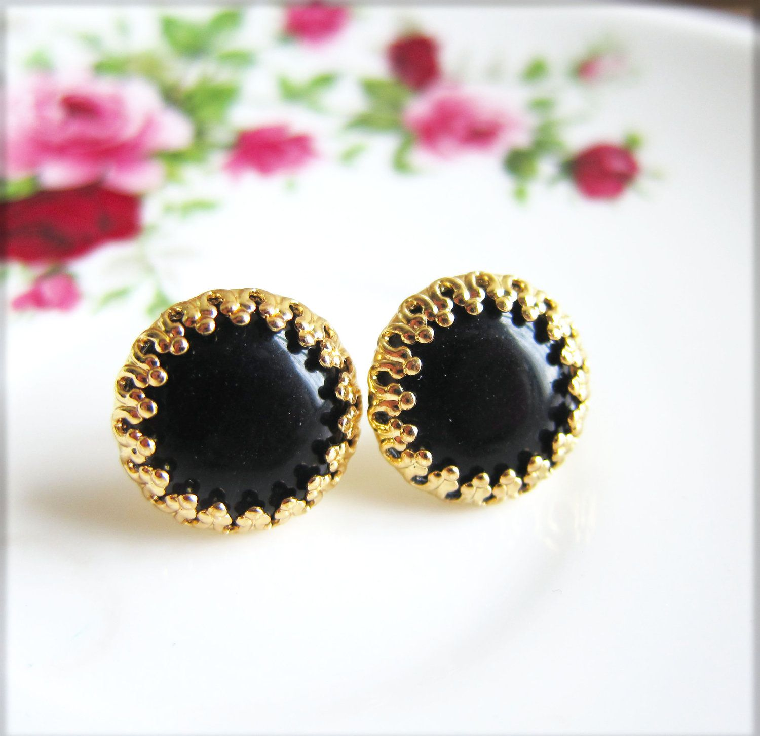 gold gemstone diamond online stud jewellery en earrings