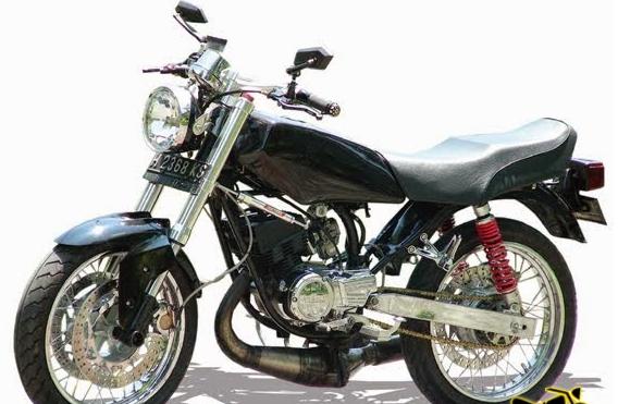 Pin di 7 Gambar Modifikasi Yamaha Rx King Warna Hitam