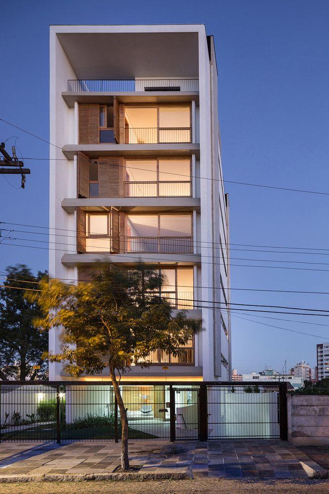 Galeria de edif cio pra a municipal 47 arquitetura - Fachadas edificios modernos ...