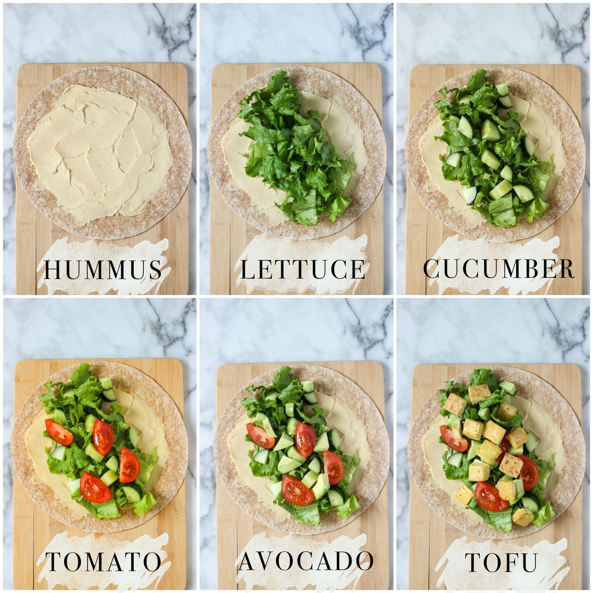 Crispy tofu hummus wraps lunch idea receta recetas crispy tofu hummus wrap recipe is the perfect healthy lunch idea easy to make forumfinder Image collections