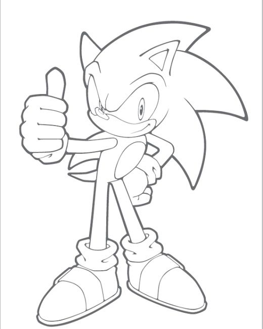 Sonic Channel Coloring Pages Coloring Pages