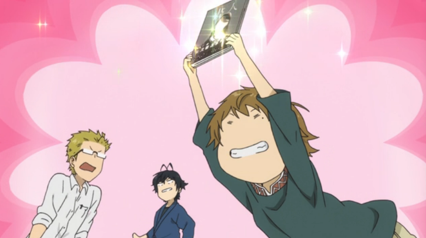 e11 Kosuke found H book in Seishu's room Anime