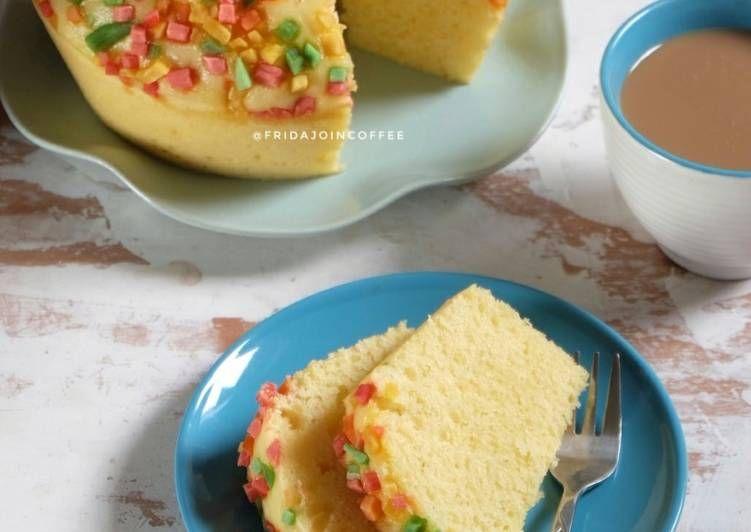 Resep Bolu Tape Kukus No Mixer Oleh Fridajoincoffee Resep Makanan Dan Minuman Makanan Resep