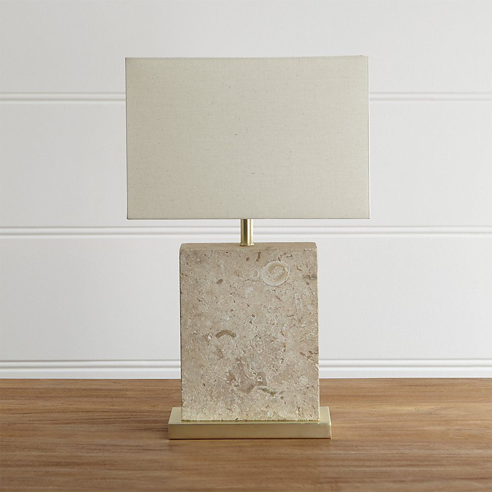 Mactan stone table lamp stone geometric designs and natural stones mactan stone table lamp geotapseo Choice Image