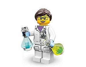 TAKARA TOMY LEGO Minifigures Series 11 Scientist Science Girl COLLECTIBLE Figure theoretical System