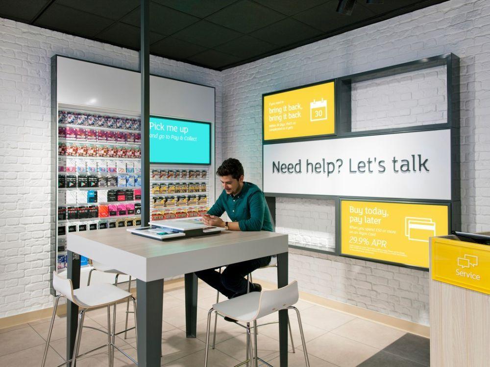 ConceptStore in London Design wurde modernisiert Photo Argos