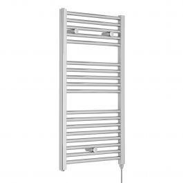 Premier Electric Heated Towel Rail 920mm H x 480mm W Anthracite
