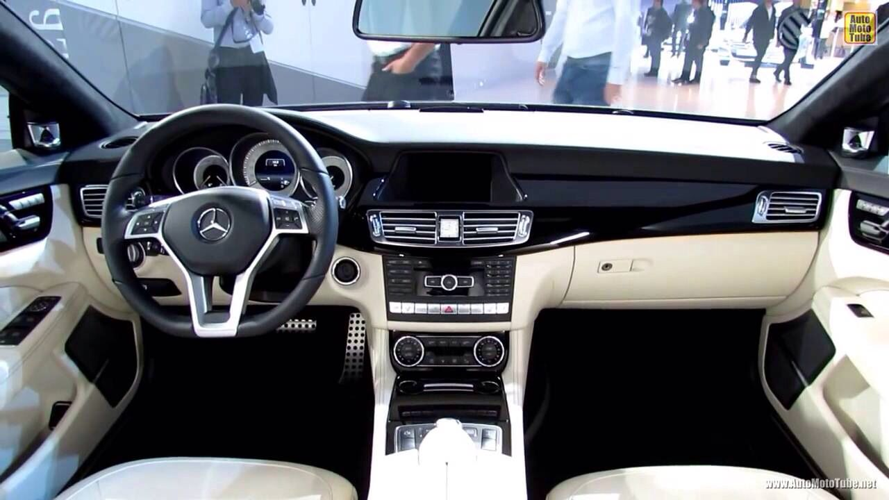 Mercedes Cls 500 With Black And White Leather Interior Many Other Fabulous Interior Color