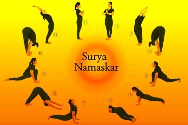 Surya Namaskar Salutations To The Sun The Yoga Institute Surya Namaskar Yoga Institute Surya