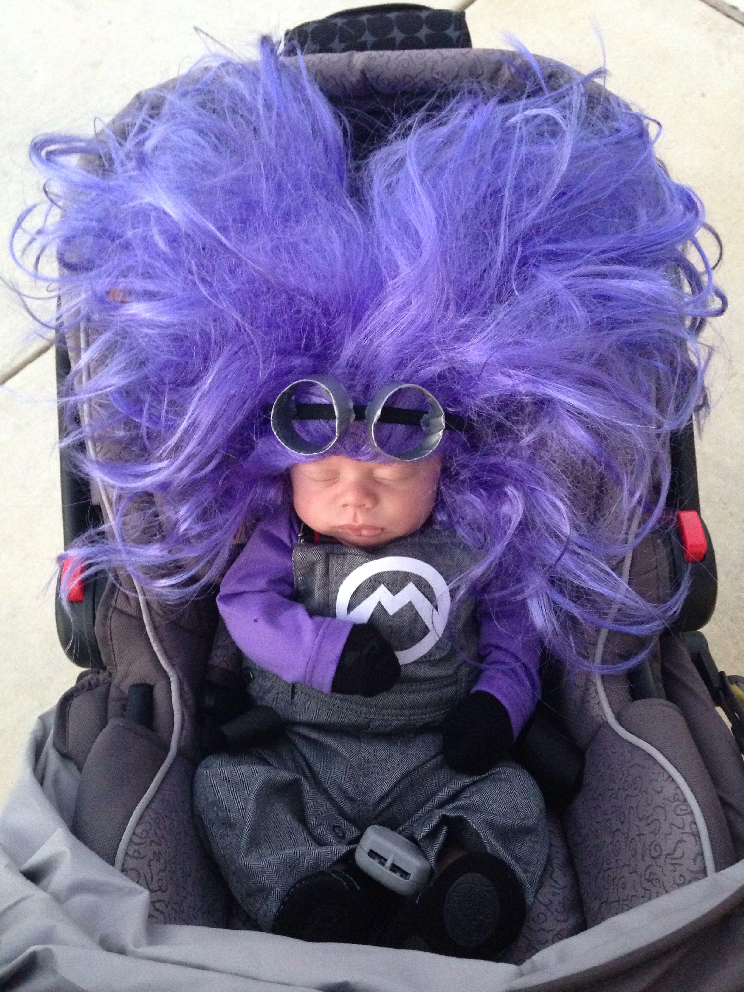 Pin By Sophia Salas On Kids Ideas Purple Minion Costume Minion Costumes Purple Minions