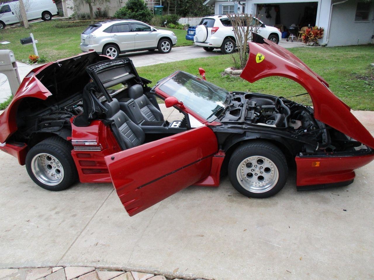 1982 Ferrari 512BBi Convertible Supercharged Replica Kit Car ...