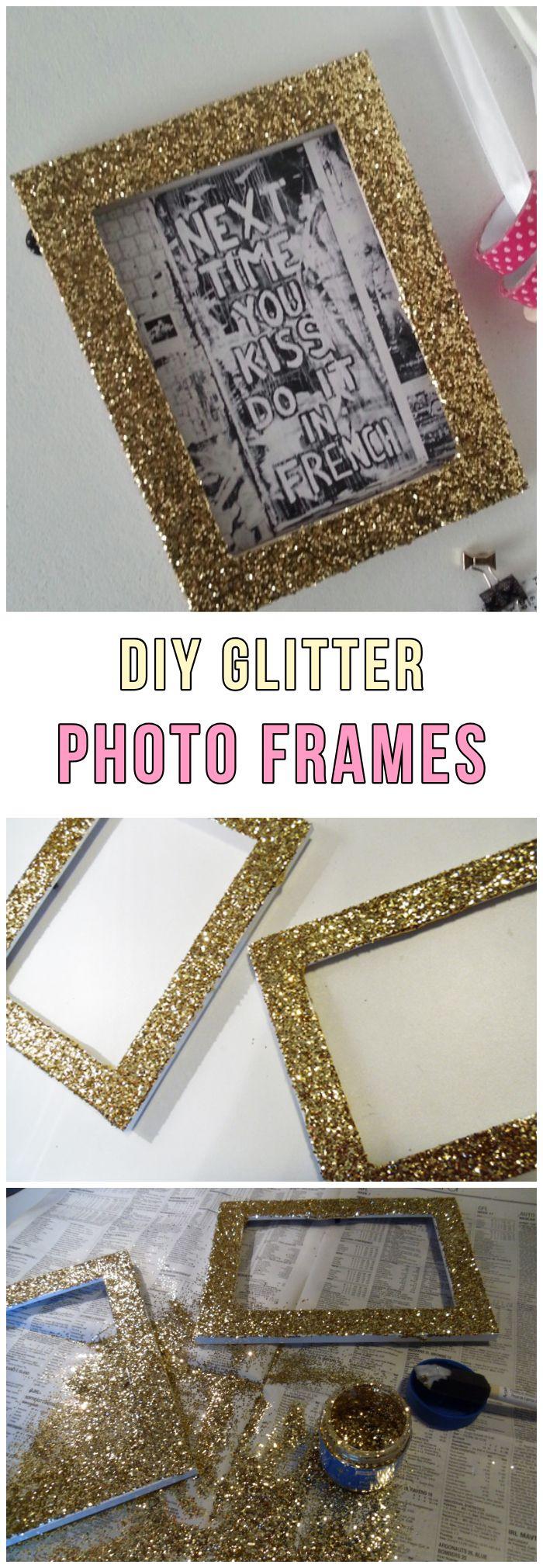 3 Simple Ideas For Glittered Decorations Glitter Diy Glitter
