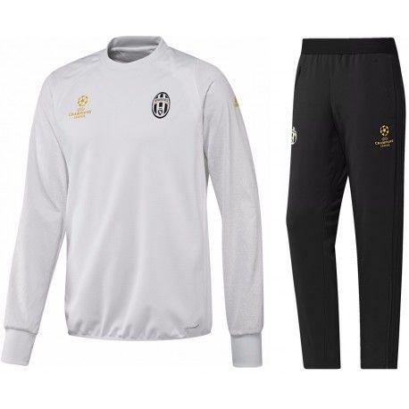 Survetement Juventus Ligue des Champions  2016 2017 Officiel. Flocages Personnalisés Disponibles.