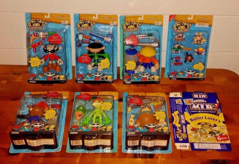Kids Toys Action Figure: Codename Kids Next Door KND Complete Figure Set MOC Top