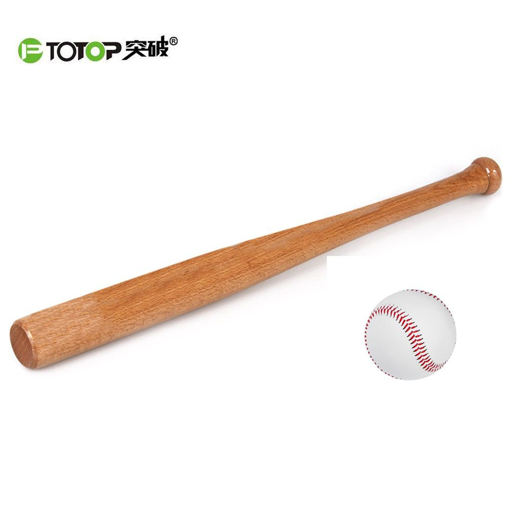 Compare Prices Ptotop 54cm Solid Wooden Baseball Bat Professional Hardwood Baseball Stick Outdoor Wood With Images Baseball Bat Baseball Girlfriend No Equipment Workout