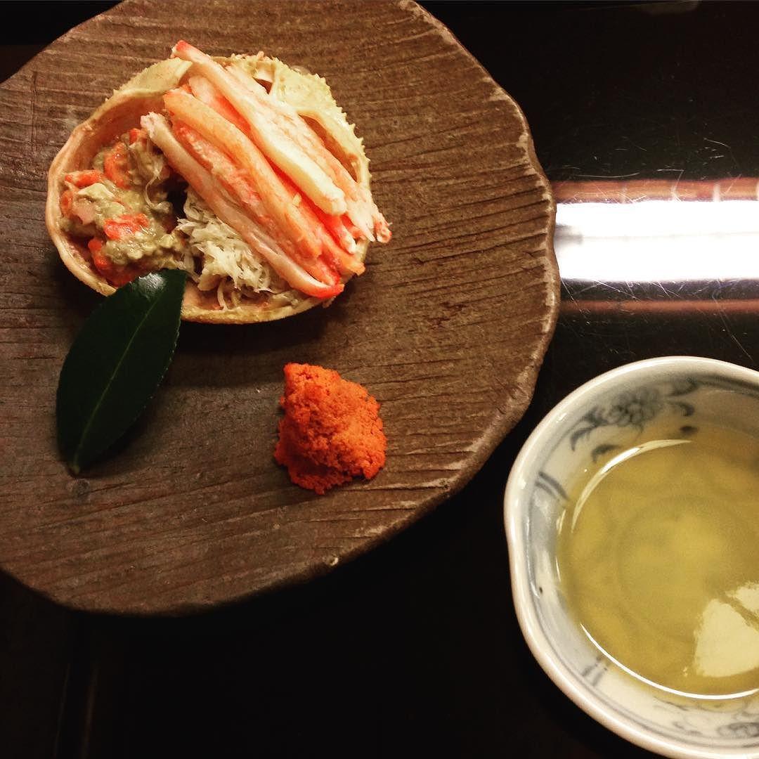 金沢 老舗懐石料理 銭屋 高校時代をアメリカで過ごされた高木社長とwineのお話でも盛り上がりました ほっとする様な心温まるお店 お味は正統派の美しい和食 #Kanazawa #zeniya #Kaiseki by kairi_choy