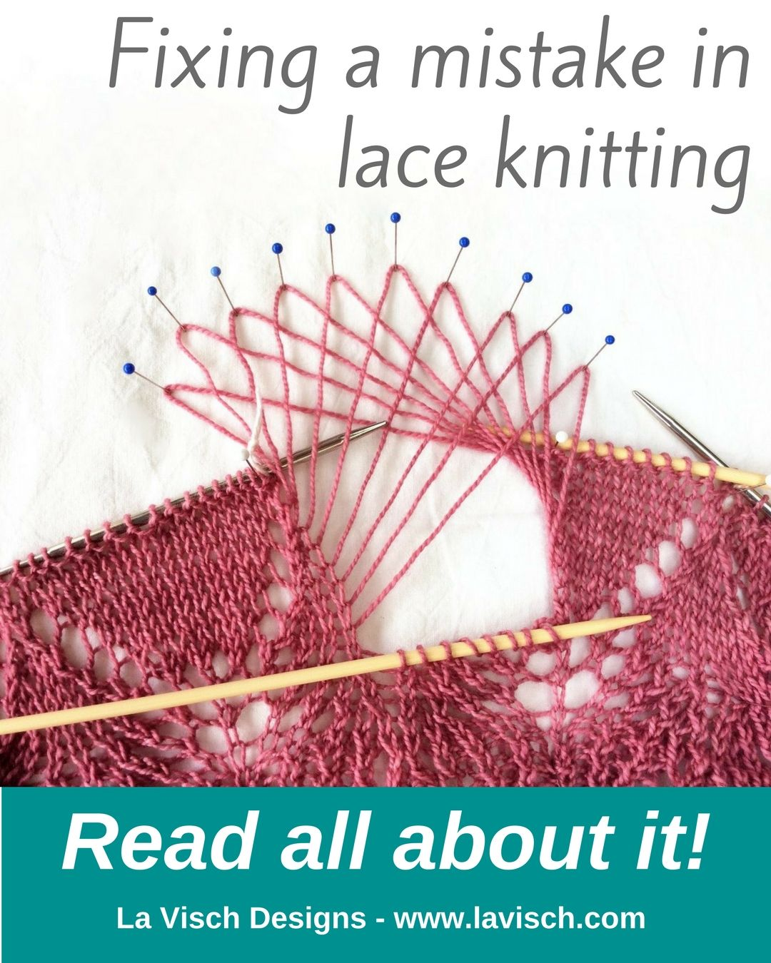 In my shawl project i found a mistake in the lace edging you can want to see how to go about fixing a mistake in lace knitting check out this post by la visch designs bankloansurffo Choice Image