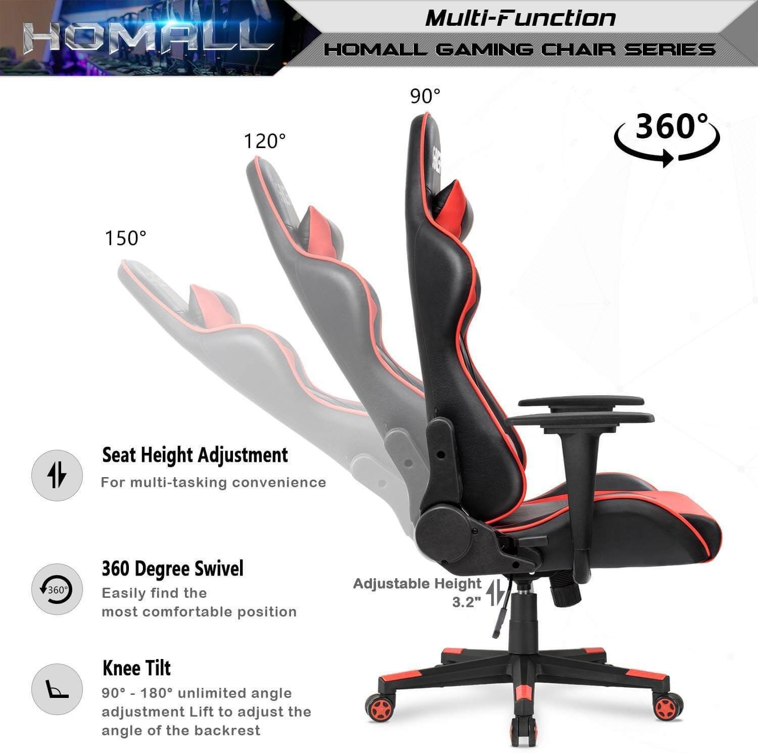 Best computer chair for long hours of sitting 05