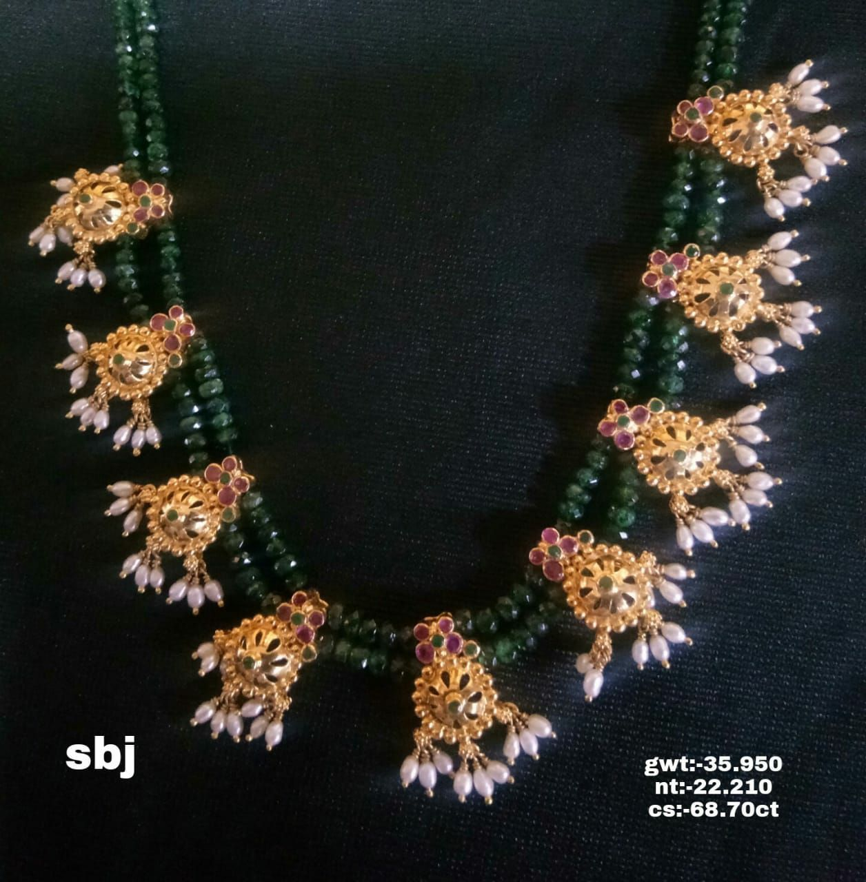 Light budget botu mala wow collections sbj necklace with rice