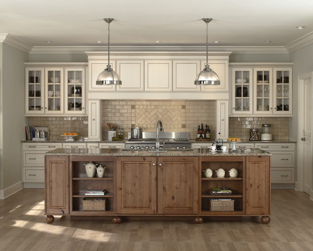 Antique White Country Kitchen CabinetsAntique White Country ...