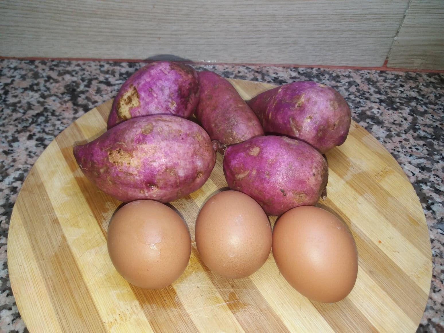 فطائر أو قراشل البطاطا الحلوة صحية ولذيذة Breakfast Food Eggs