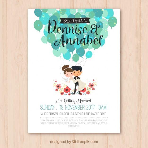Pin de Johanna Vasquez en hermosa Pinterest Invitaciones, Boda y - invitaciones de boda gratis