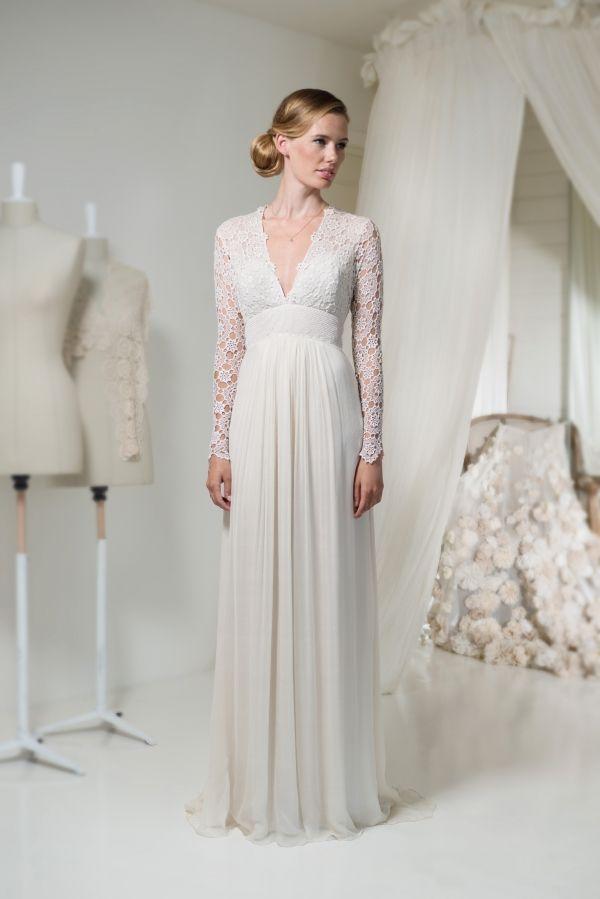 Célèbre Épinglé par M Angeles sur Vestidos de novia 5 | Pinterest | Robes  ZW74
