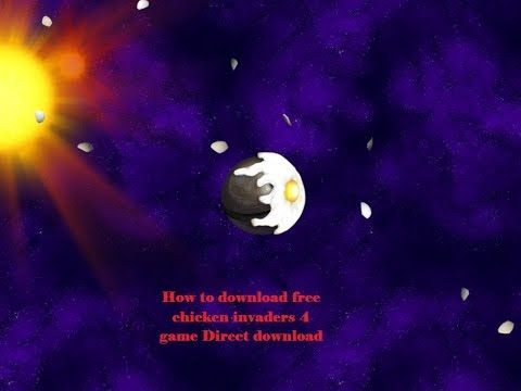 How to download free chicken invaders 1,2,3,4 & 5 Direct download