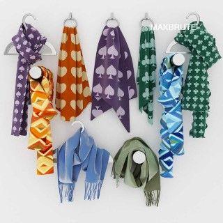 scarf 3dmodel 3dsmax