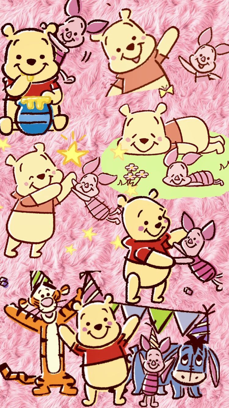 Pin by Koh Yen on POOH BEAR Cute disney wallpaper