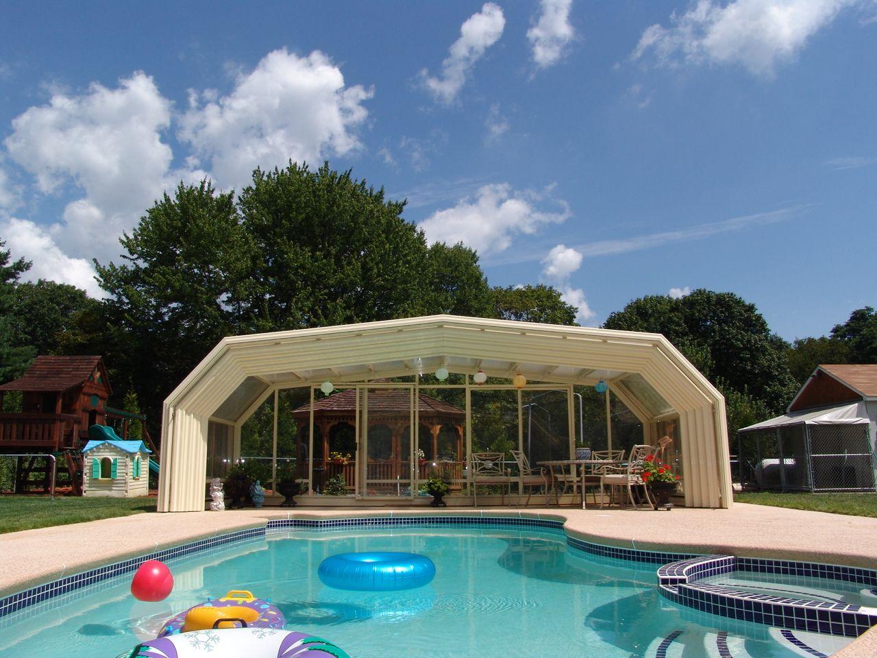 Pin On Retractable Pool Enclosure