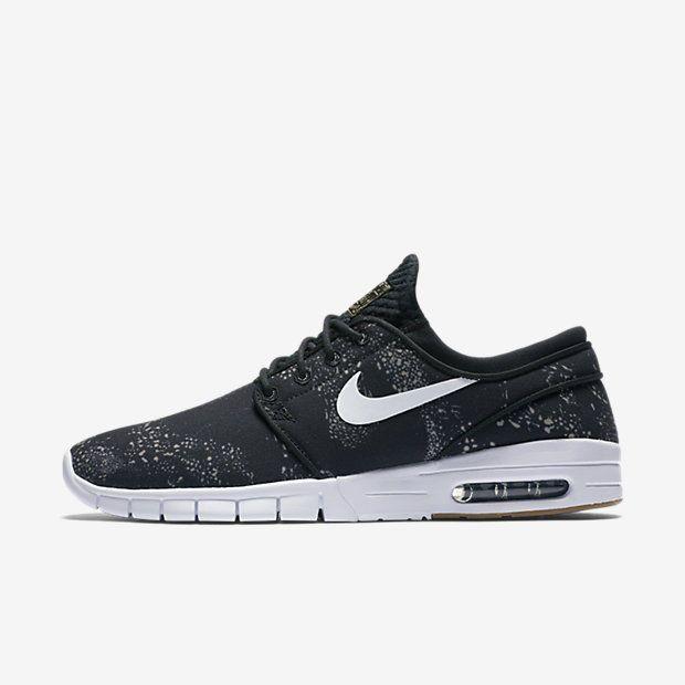 Nike SB Janoski Max PRM Aztec Seat Cover Skate Shoes Mens 10.5 Black 807497  003 #Nike #Skateboarding | Nike SB | Pinterest