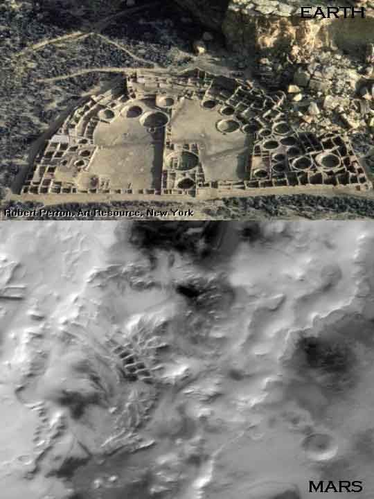 """mars anomaly   Inca City on Earth vs """"Inca"""" City on Mars. If this was on Earth, do you think they would take a look?"""