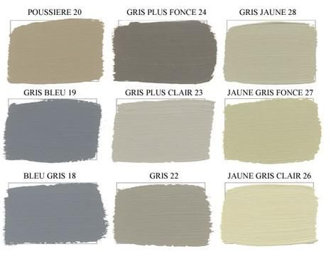 couleur gris marron
