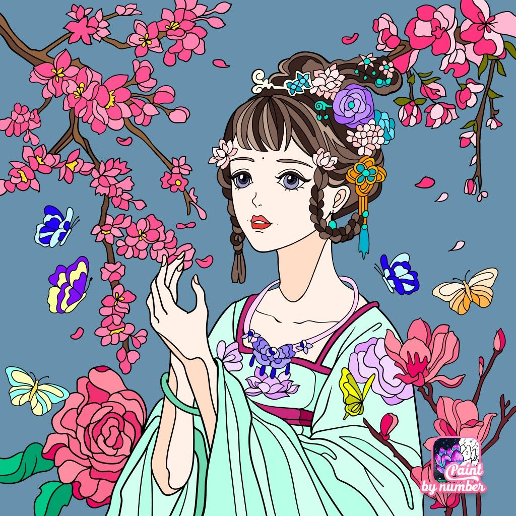 Pin by mimie chan on anime beauty anime glass painting art