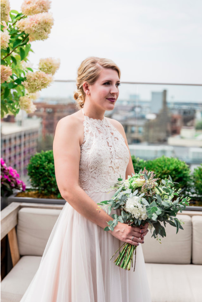 Wisconsin Third Ward Wedding Willowby Esperance From Miss Ruby Boutique Photo By Happy Takes Photograp Bridal Gowns Wedding Dresses Lace Bohemian Wedding