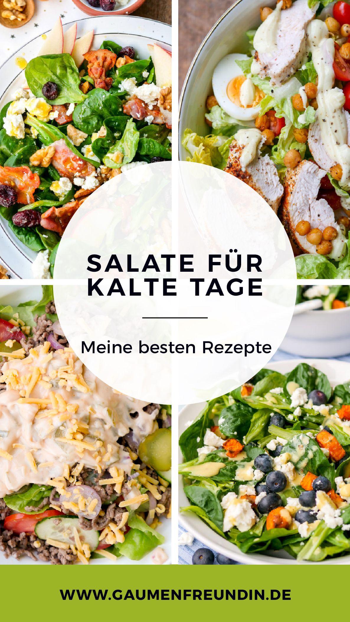 Herbstliche Salate - gesund + schnell