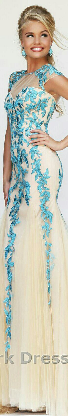 Sherri Hill 1927 Style Dress In Turquoise