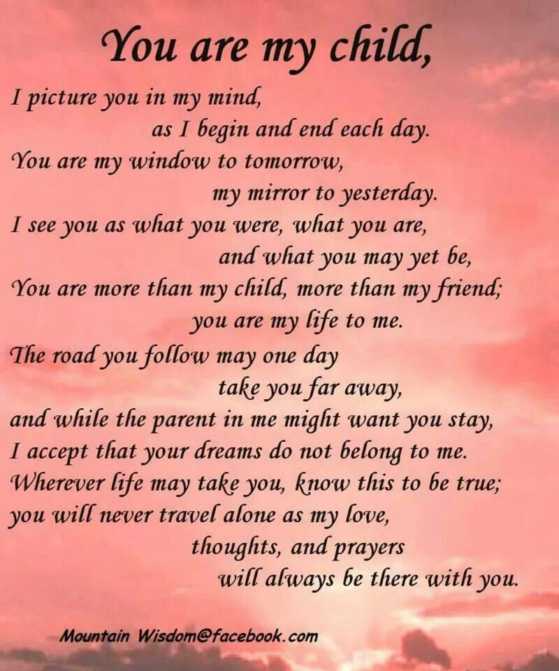 My Children Quotes: WORDS TO REMEMBER (QUOTES, SAYINGS
