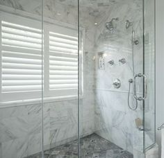 Haute Indoor Couture: Windows In Showers (Possibly Use An Outdoor Louvered  Shutter?