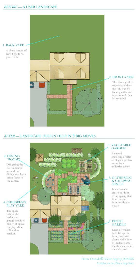 Outdoor Landscape Design App