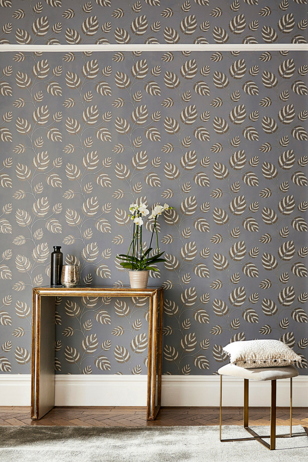 Marbelle By Harlequin French Grey Brass Wallpaper Wallpaper Direct Grey Pattern Wallpaper Wallpaper Living Room Gold Accent Wall #wallpaper #for #grey #living #room