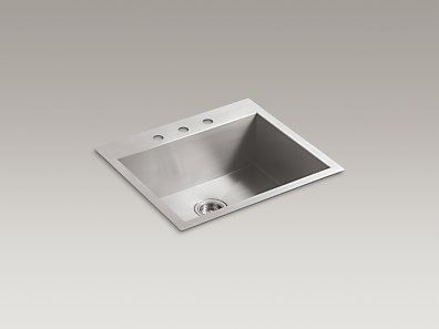 KOHLER Vault Single Bowl Kitchen/laundry Sink $370 CAD
