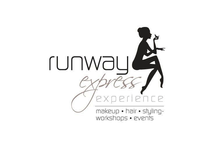 bonsai media runway express fashion logo design