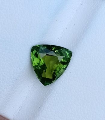 Find many great new & used options and get the best deals for 2 CARATS CHROME COLOUR TRILLION SHAPE TOURMALINE LOOSE GEMSTONE SHINY FACATED at the best online prices at eBay! Free shipping for many products!