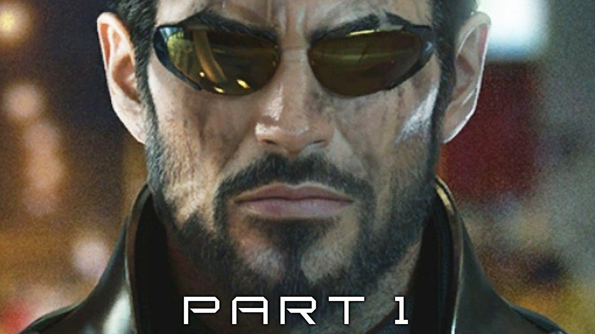 Deus Ex Mankind Divided Walkthrough Gameplay Part 1 Intro Deus Ex Mankind Divided Deus Ex Mankind