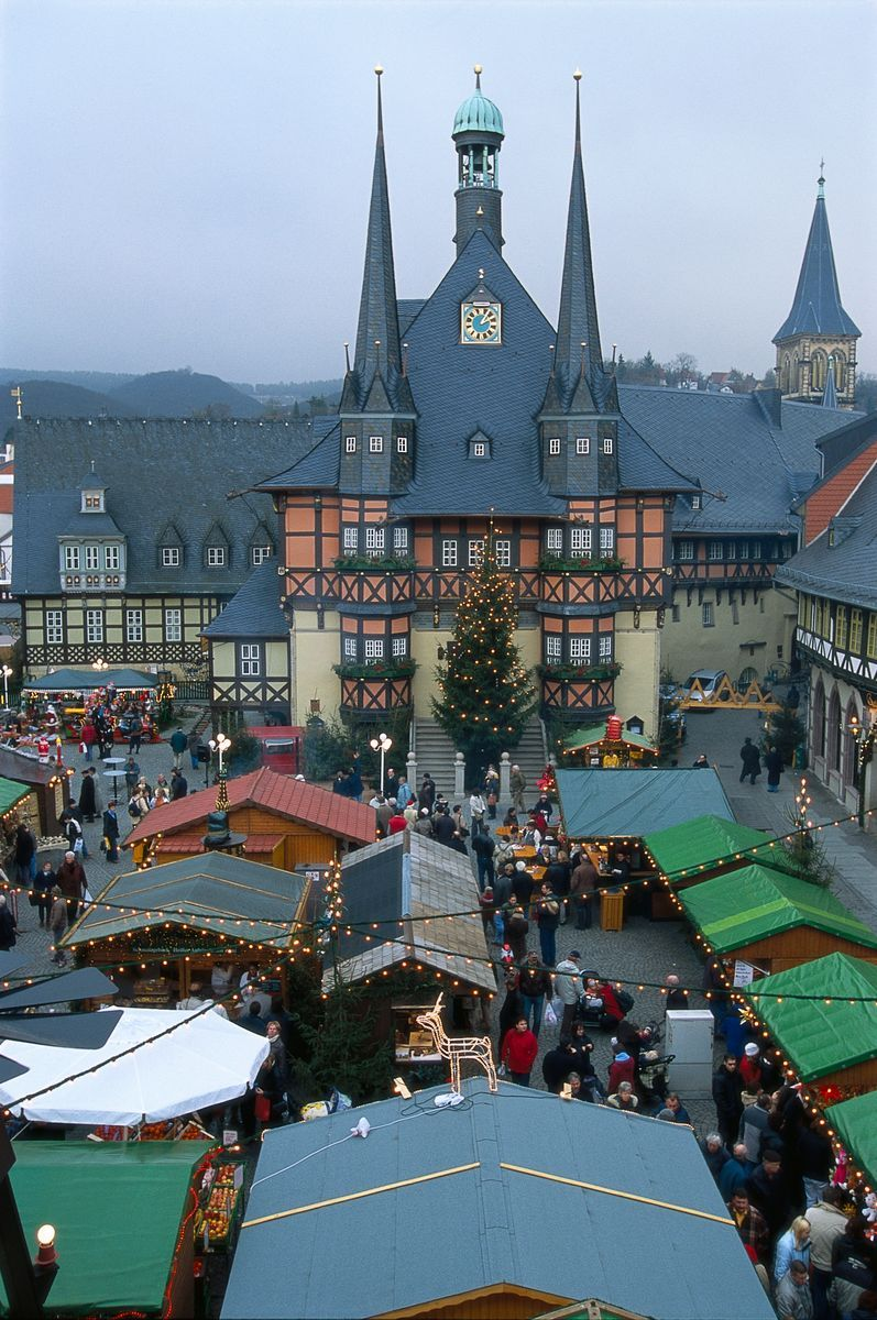 WernigerodeChristmasmarket Christmas in germany