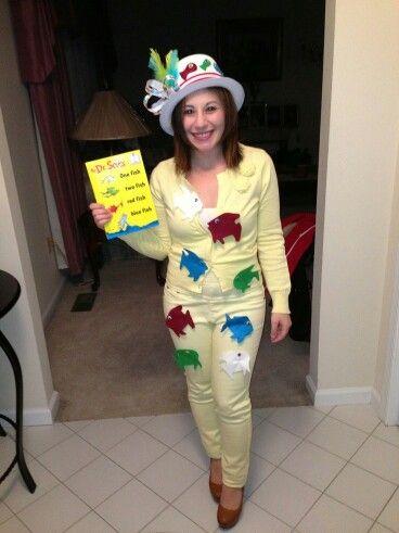 Dr suess costume kids Pinterest - dr seuss halloween costume ideas