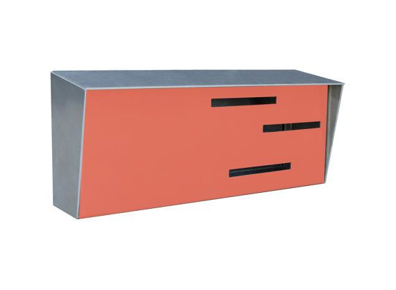 Modern Mailbox Inspired By Mid Century Modern Design Handmade In America Perfect For Your Mid Cen Modern Mailbox Mid Century Modern Mailbox Midcentury Modern